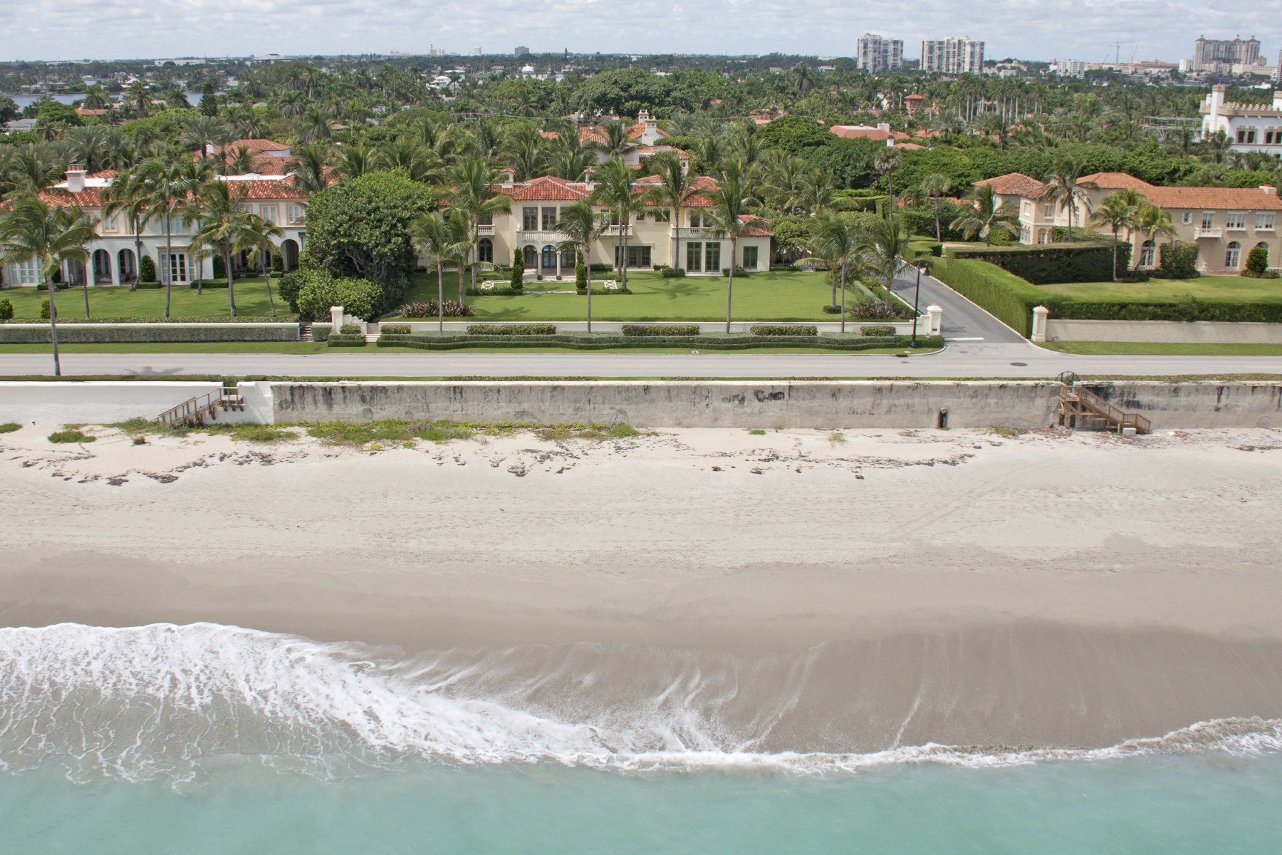 Single Family Home for Sale at Oceanfront Mizner - Villa Tranquilla Palm Beach, Florida 33480 United States