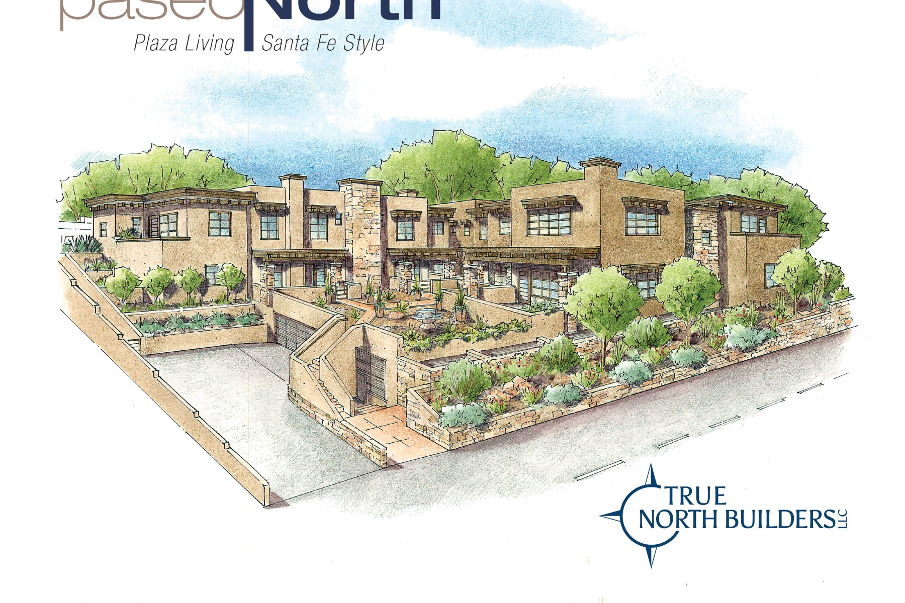 Appartement en copropriété pour l Vente à 511 Paseo De Peralta #3 Santa Fe City Northeast, Santa Fe, New Mexico 87501 États-Unis