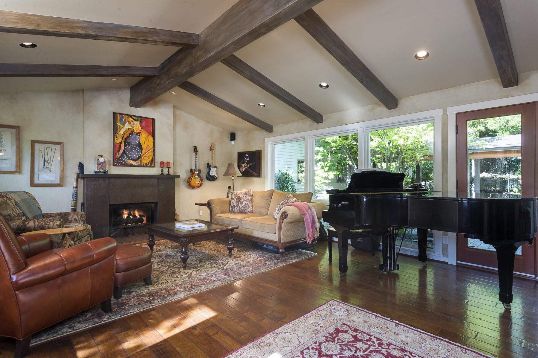 sales property at Lush Garden Montecito Home