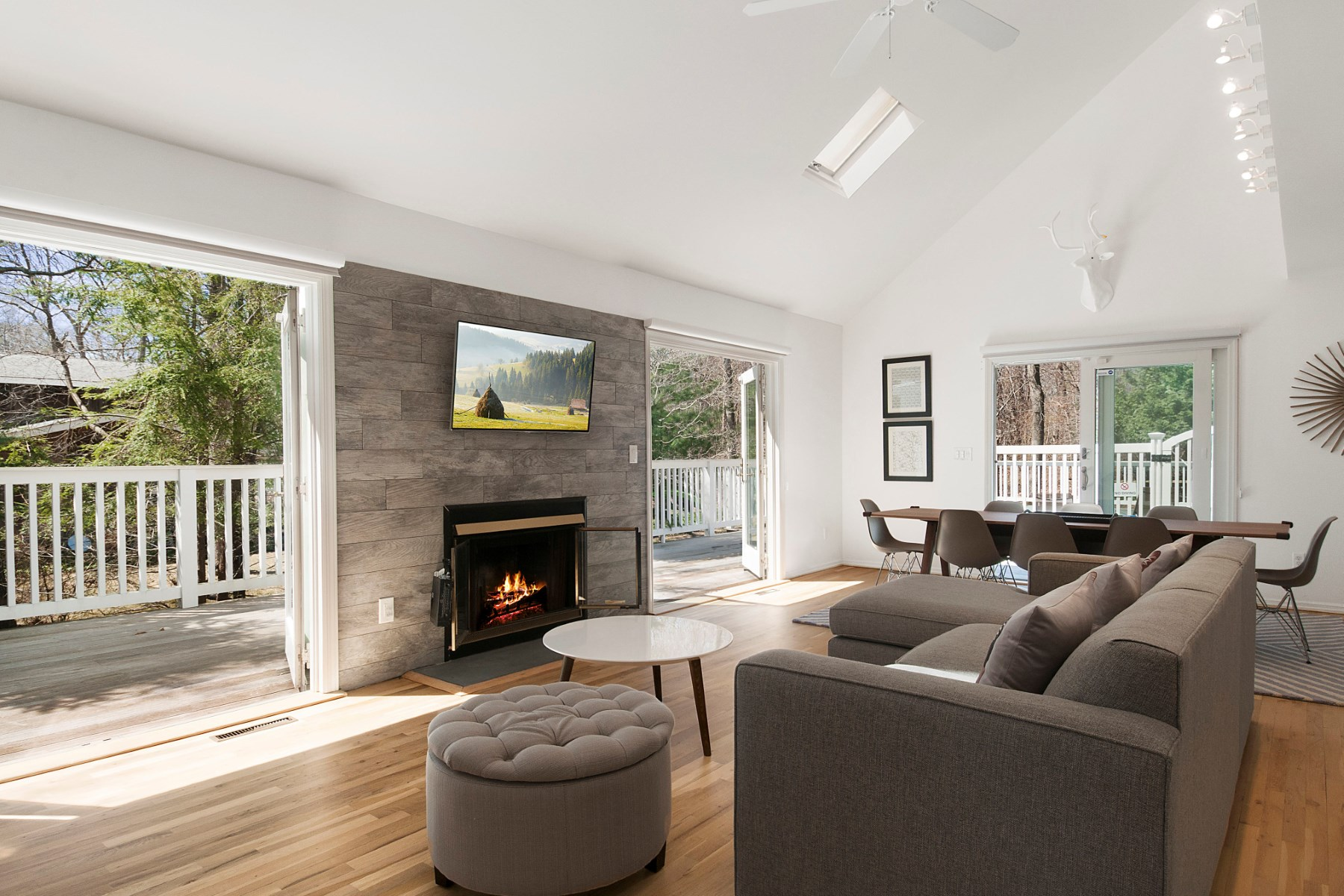 Single Family Home for Sale at Sleek Contemporary with Bay Breezes 31 Milina Drive East Hampton, New York 11937 United States