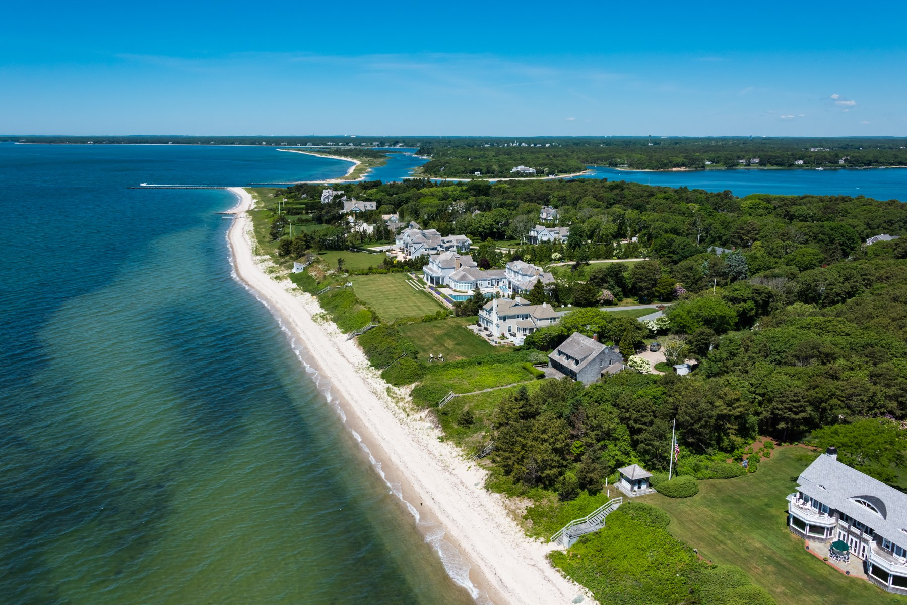 Single Family Home for Sale at Magnificent Sea View Avenue Estate 807 Sea View Ave Osterville, Massachusetts, 02655 United States