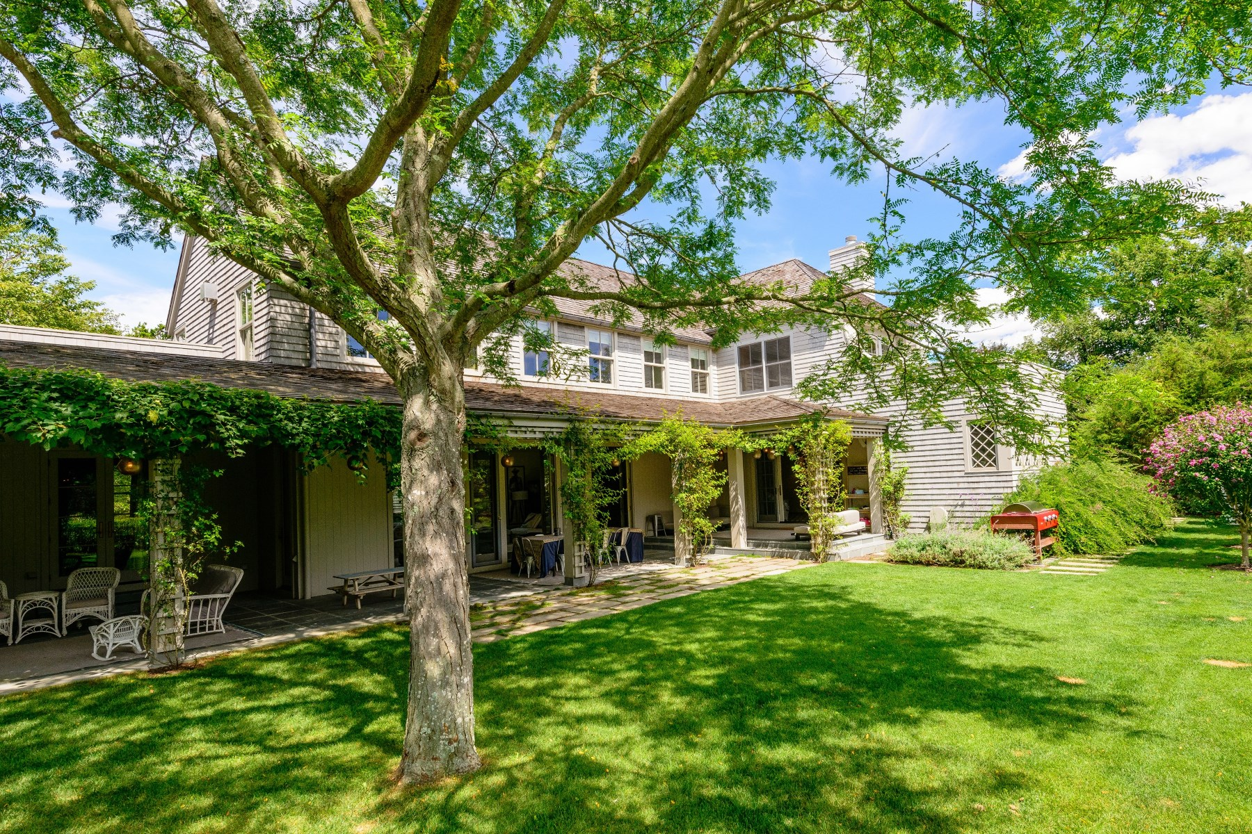 Single Family Home for Rent at Private Oasis, Coveted Georgica Road East Hampton, New York 11937 United States