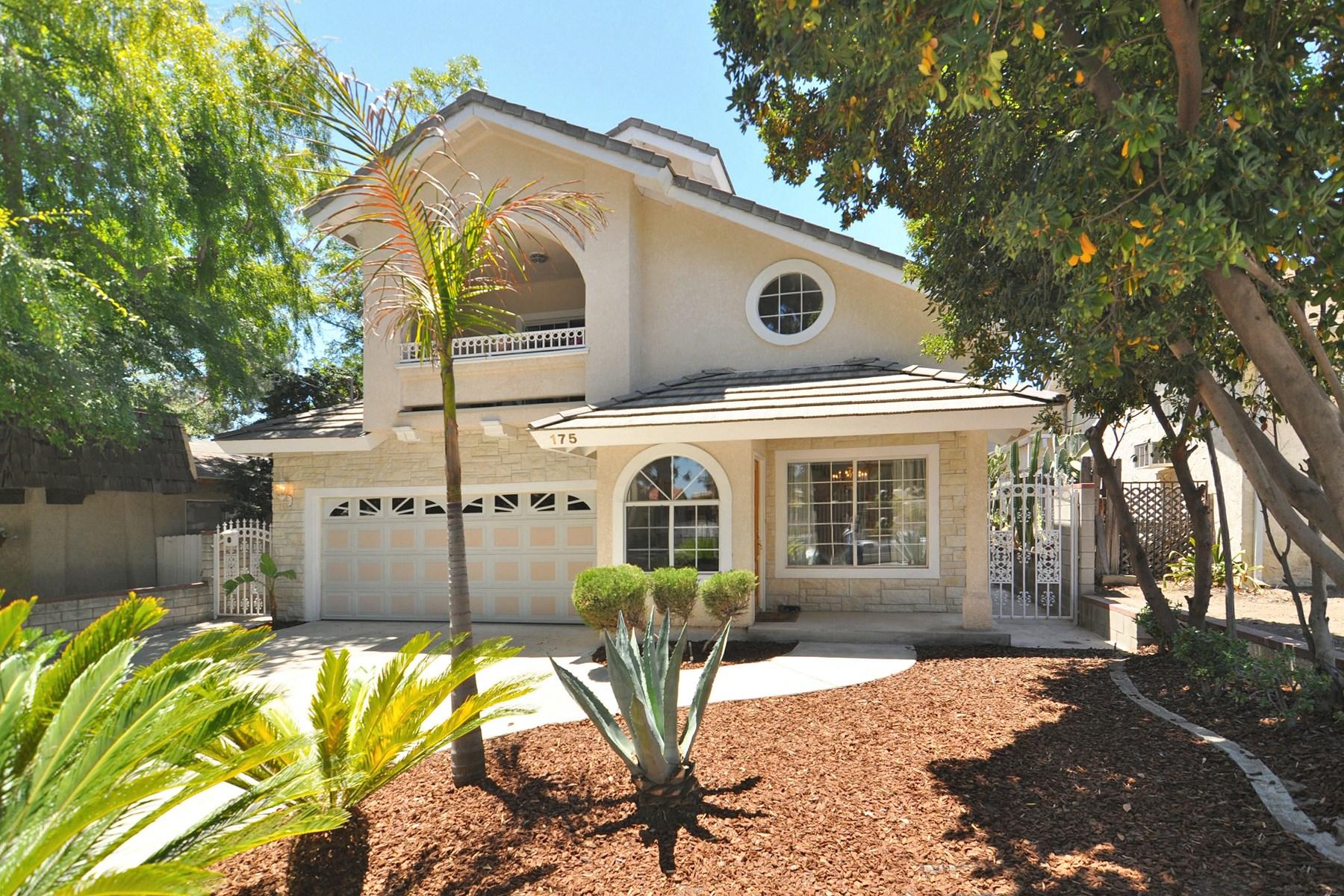 Vivienda unifamiliar por un Venta en Single Family Residence in Sierra Madre 175 North Hermosa Avenue Sierra Madre, California, 91024 Estados Unidos