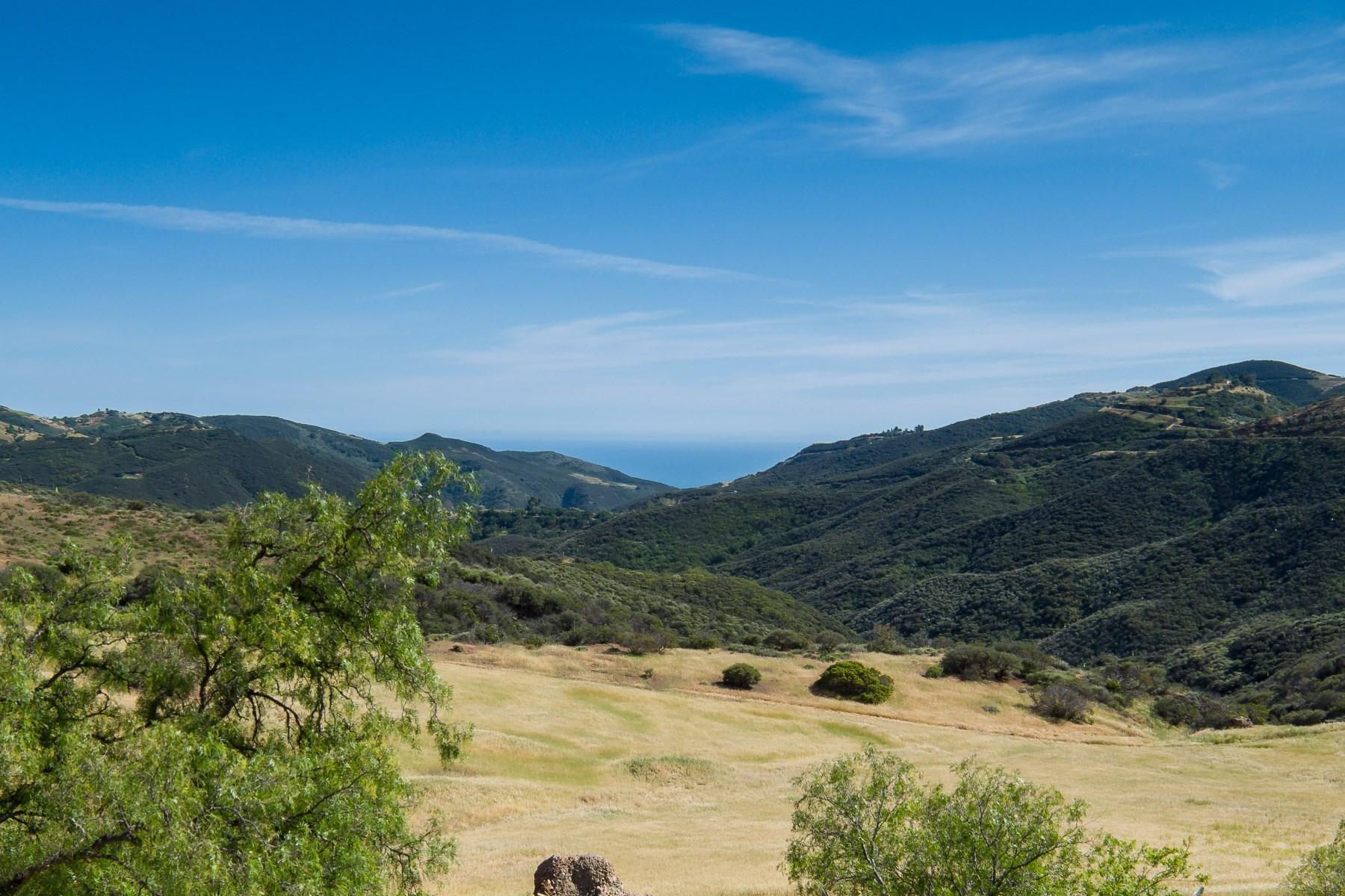 Terreno por un Venta en Magical Haven 12470 East Yerba Buena Rd Malibu, California, 90265 Estados Unidos