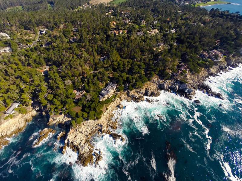 Land for Sale at Extraordinary Home Site 270° Ocean View 1266 Portola Road Pebble Beach, California 93953 United States