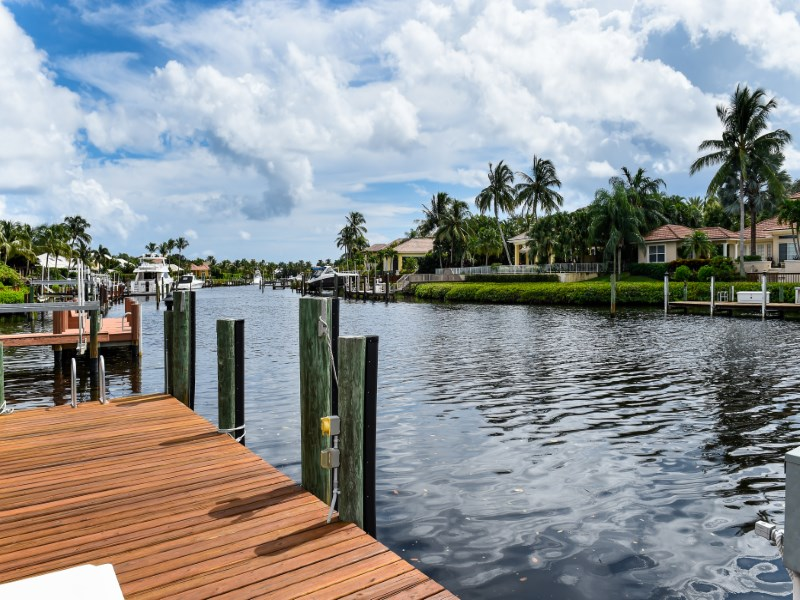 Single Family Home for Sale at Fabulous Admiral's Cove Waterfront Home 107 Quayside Dr Jupiter, Florida 33477 United States