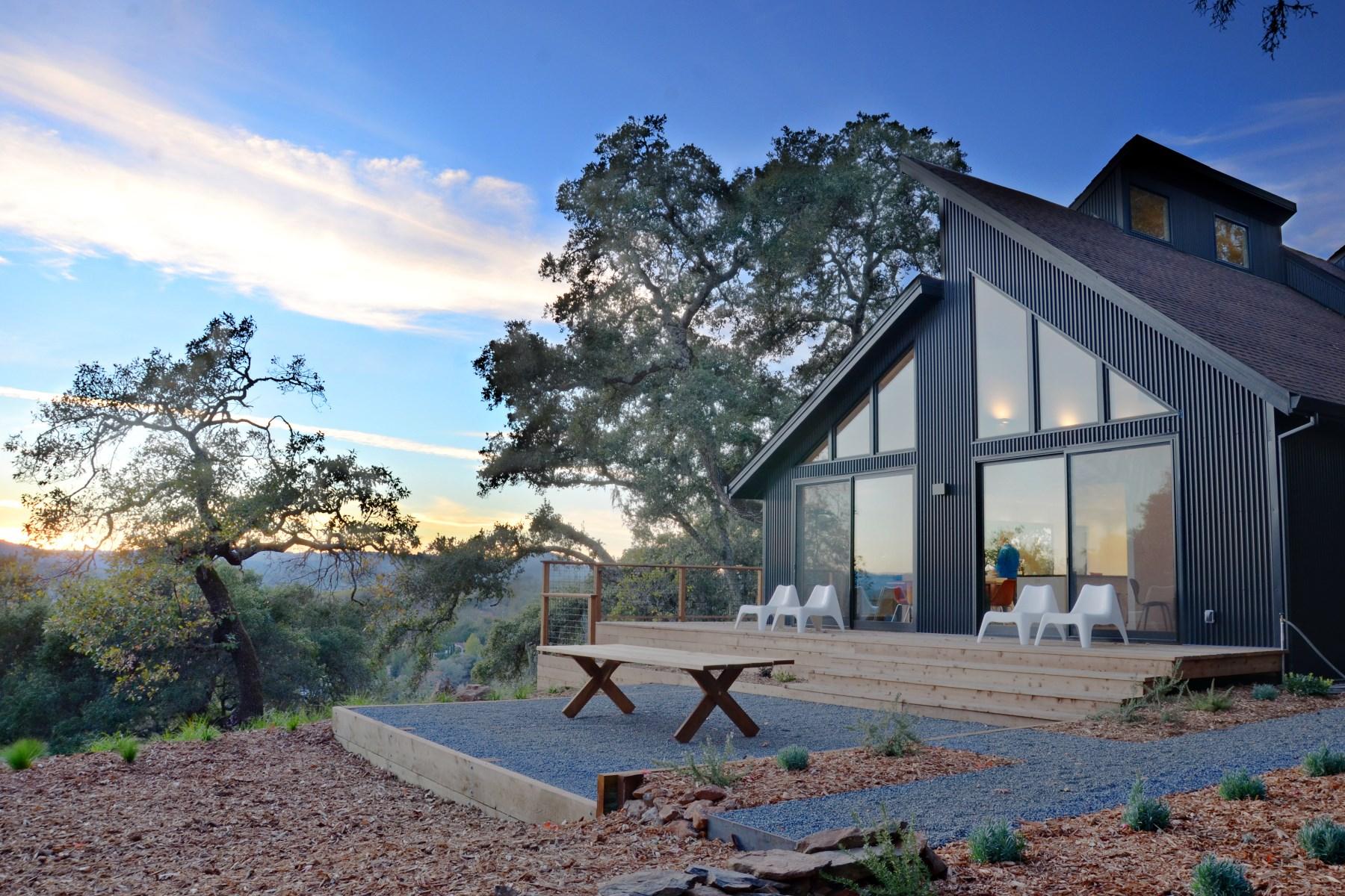 地產 為 出售 在 Geyserville Contemporary Geyserville, 加利福尼亞州 95441 美國