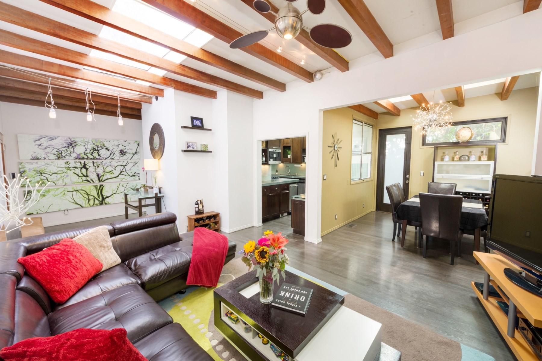 獨棟家庭住宅 為 出售 在 1909 Weepah Way Los Angeles, 加利福尼亞州, 90046 美國