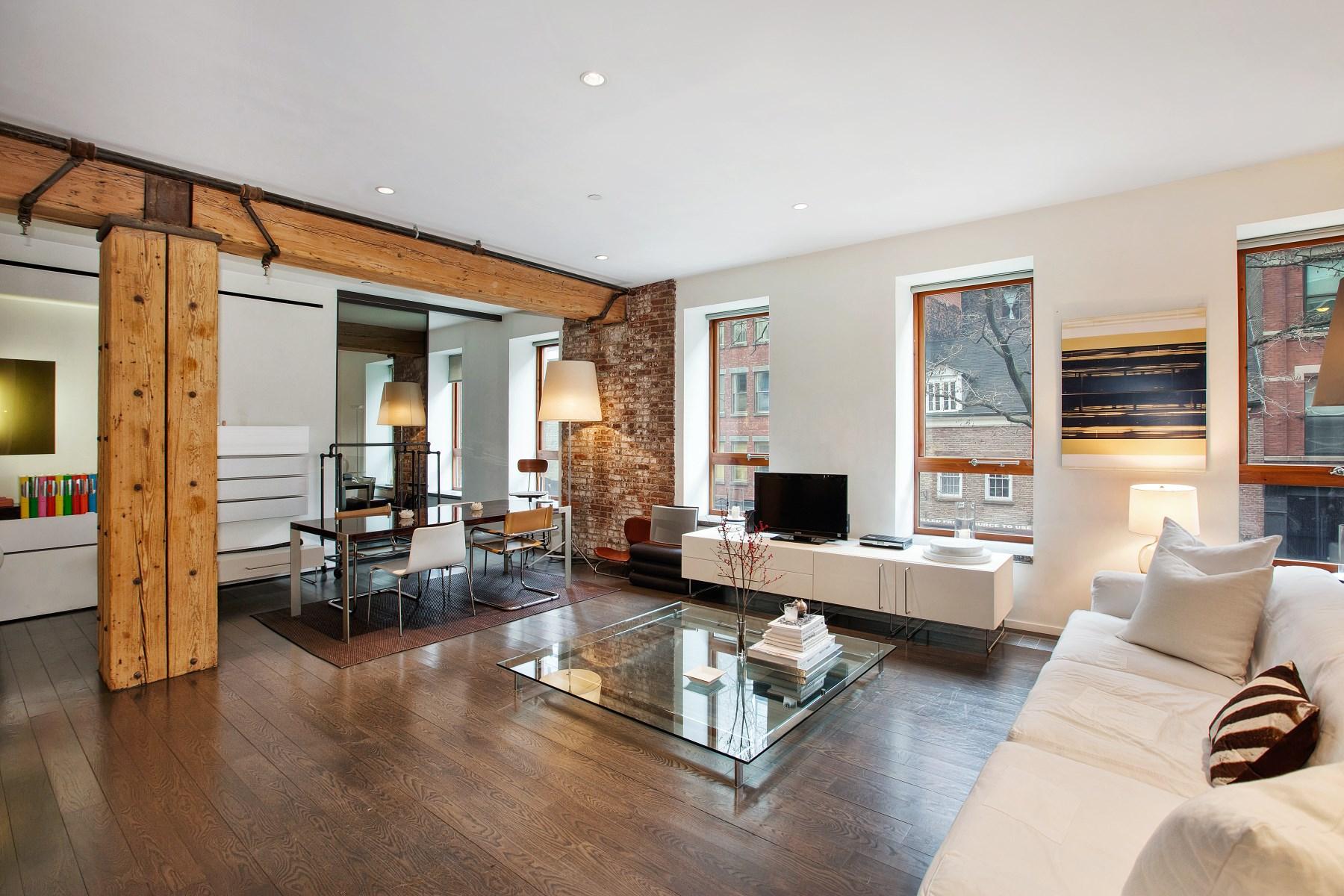 Condomínio para Venda às 497 Greenwich Street, Apt. 2C 497 Greenwich Street Apt 2c Soho, New York, Nova York 10013 Estados Unidos
