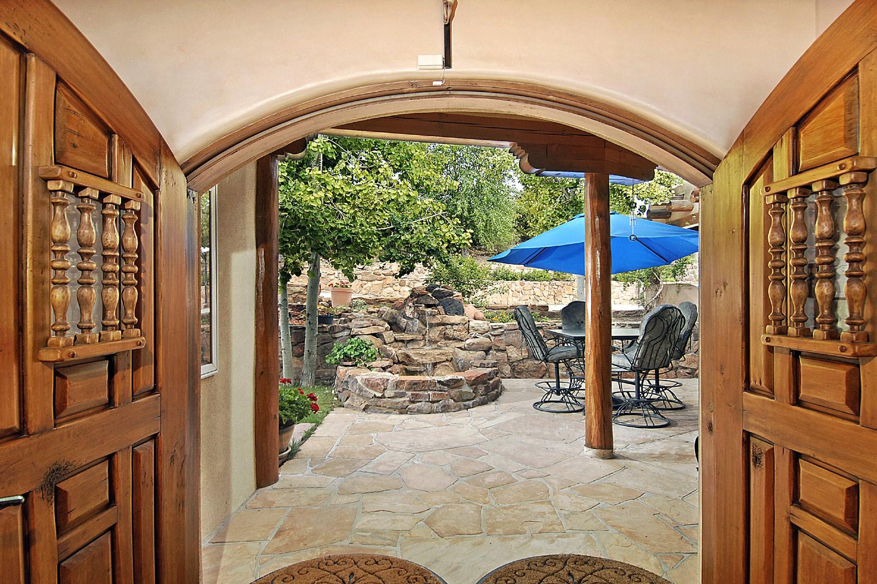 Villa per Vendita alle ore 10 Camino Monte Feliz Santa Fe, Nuovo Messico 87505 Stati Uniti