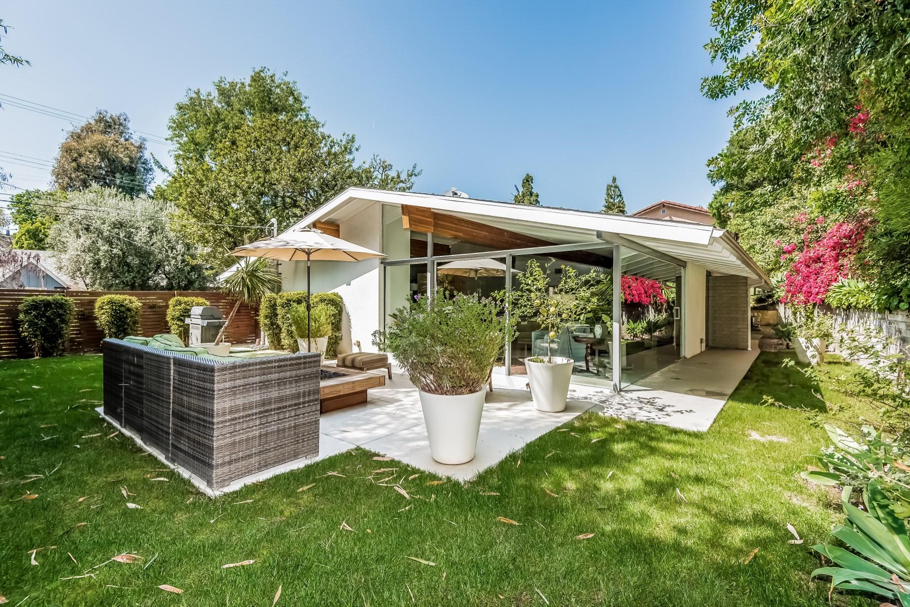 Villa per Vendita alle ore Mid-Century Modern by Ed Fickett 2256 Roscomare Road Bel Air, Los Angeles, California, 90077 Stati Uniti