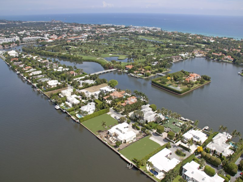 Terreno por un Venta en Everglades Island Land 671 Island Dr Estate Section, Palm Beach, Florida 33480 Estados Unidos