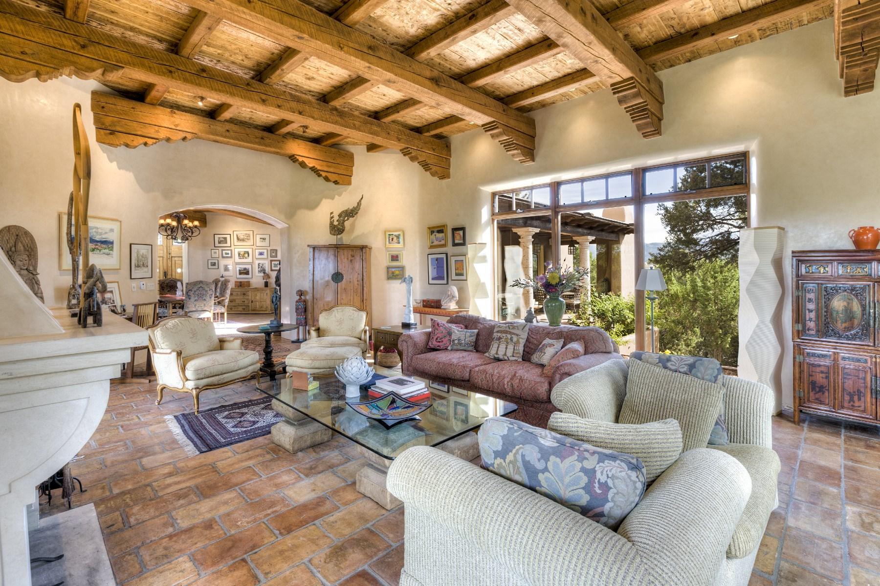 獨棟家庭住宅 為 出售 在 1218-A Bishops Lodge Road 1218-A Bishops Lodge Rd Santa Fe, 新墨西哥州, 87501 美國