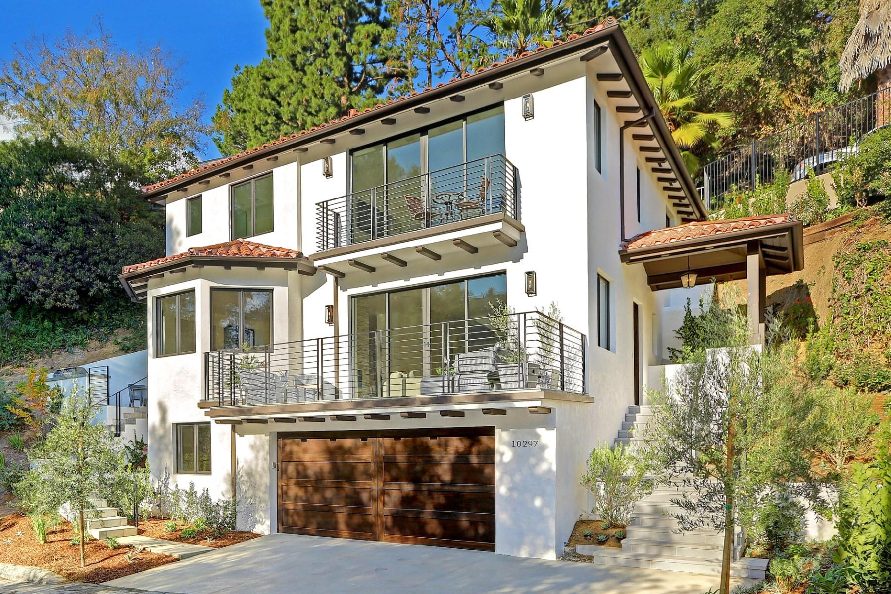 Einfamilienhaus für Verkauf beim Beautiful New Construction 10297 Mariel Lane Bel Air, Los Angeles, Kalifornien 90077 Vereinigte Staaten