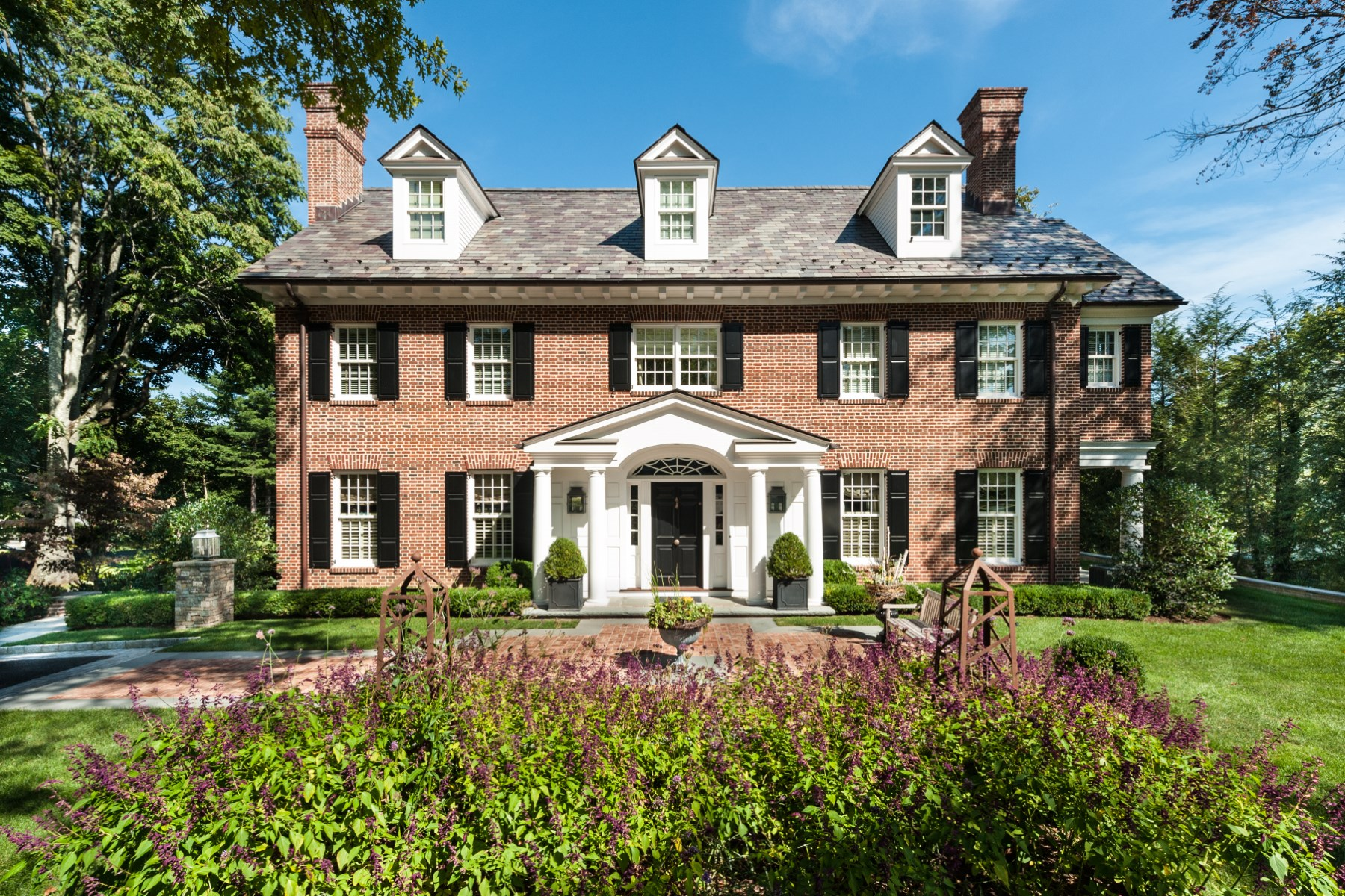 Single Family Home for Sale at Timeless Beauty 77 Maple Avenue South Of Parkway, Greenwich, Connecticut, 06830 United States