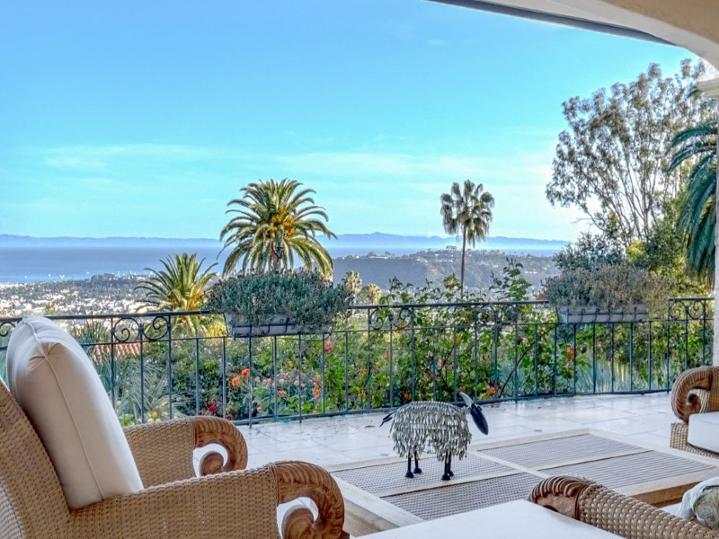 Single Family Home for Sale at Santa Barbara's Riviera - Ocean Views 1935 East Las Tunas Road Riviera, Santa Barbara, California 93103 United States