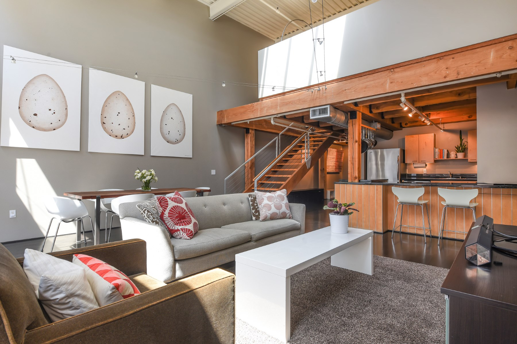 Condominium for Sale at Coveted Historic South Beach Loft 650 Delancey St Apt 409 South Beach, San Francisco, California, 94107 United States