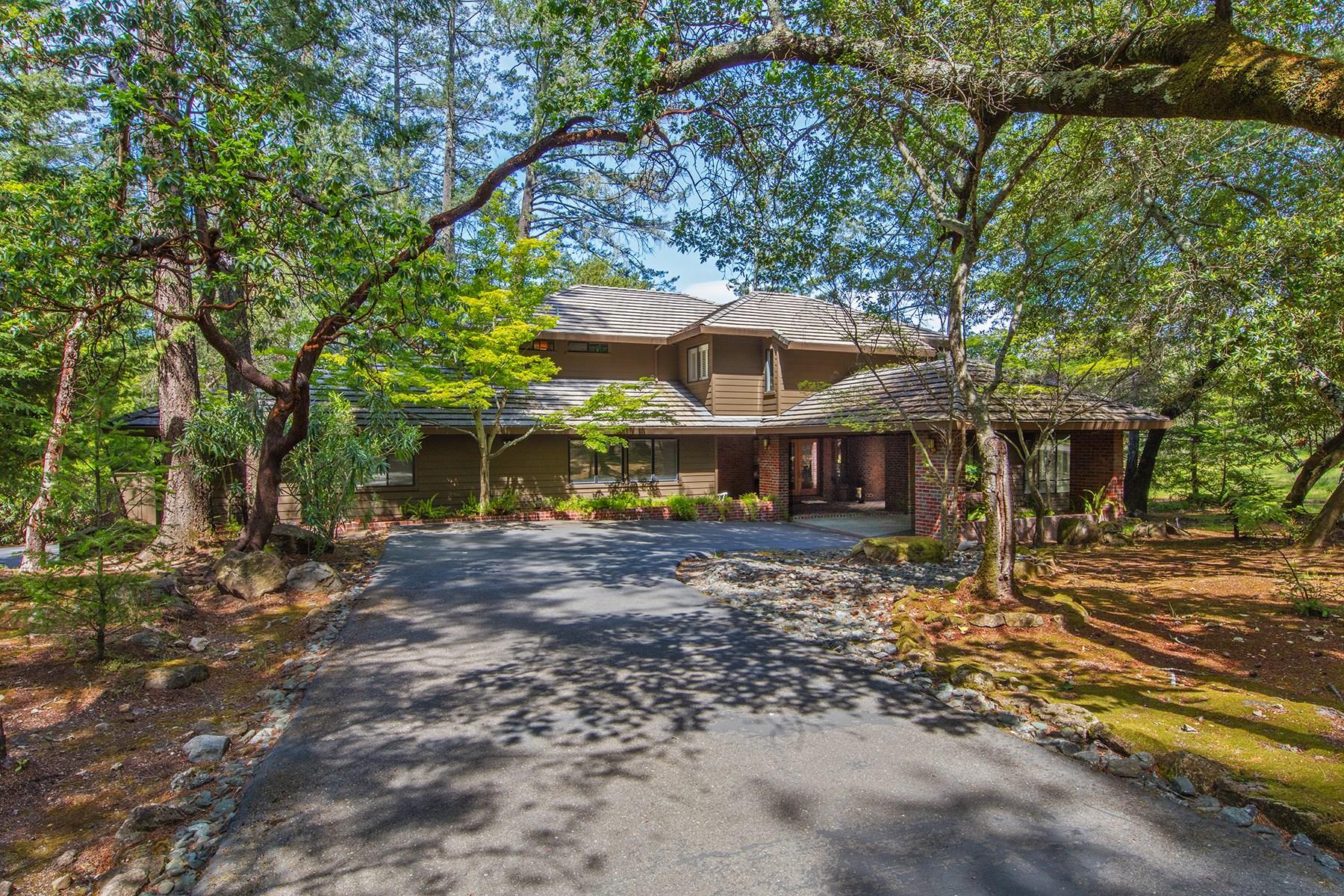 Moradia para Venda às Spacious Custom Wine Country Home 1350 White Oak Dr Santa Rosa, Califórnia, 95409 Estados Unidos