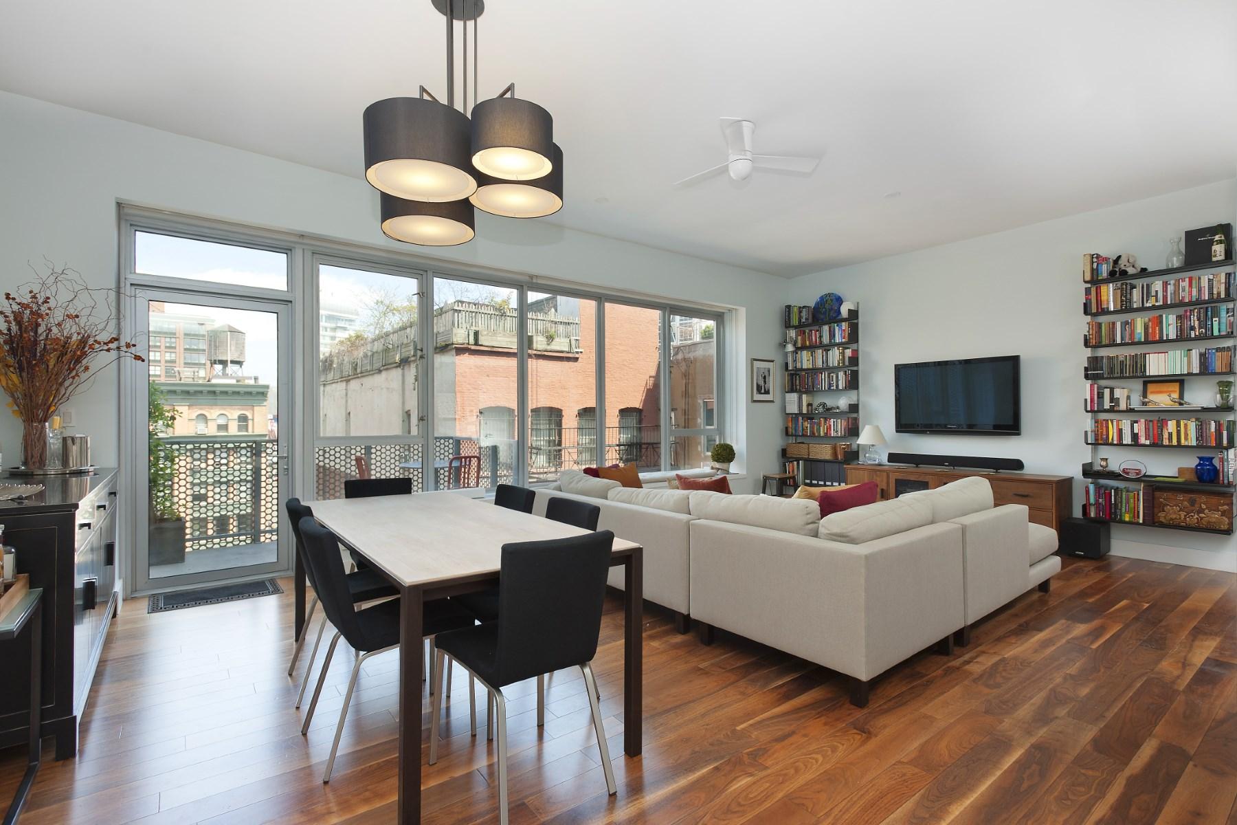 合作公寓 为 销售 在 48 Bond Street, 8B 48 Bond Street Apt 8b Noho, New York, 纽约州 10012 美国