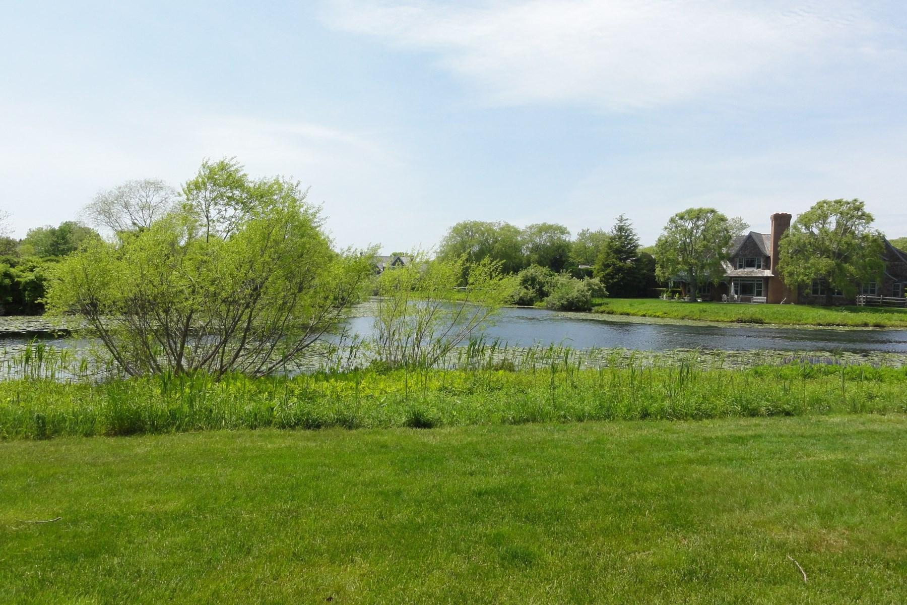 Property Of Sagaponack Pondfront