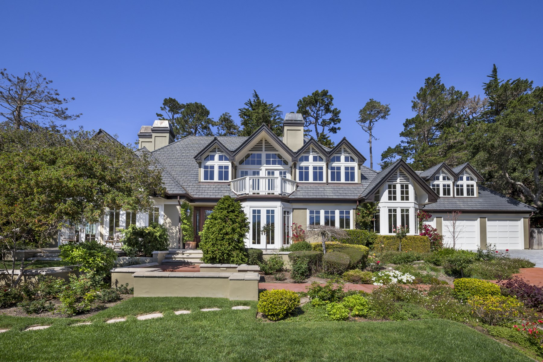 Single Family Home for Sale at Ocean View Estate in Pebble's Sunbelt 3937 Ronda Road Pebble Beach, California, 93953 United States