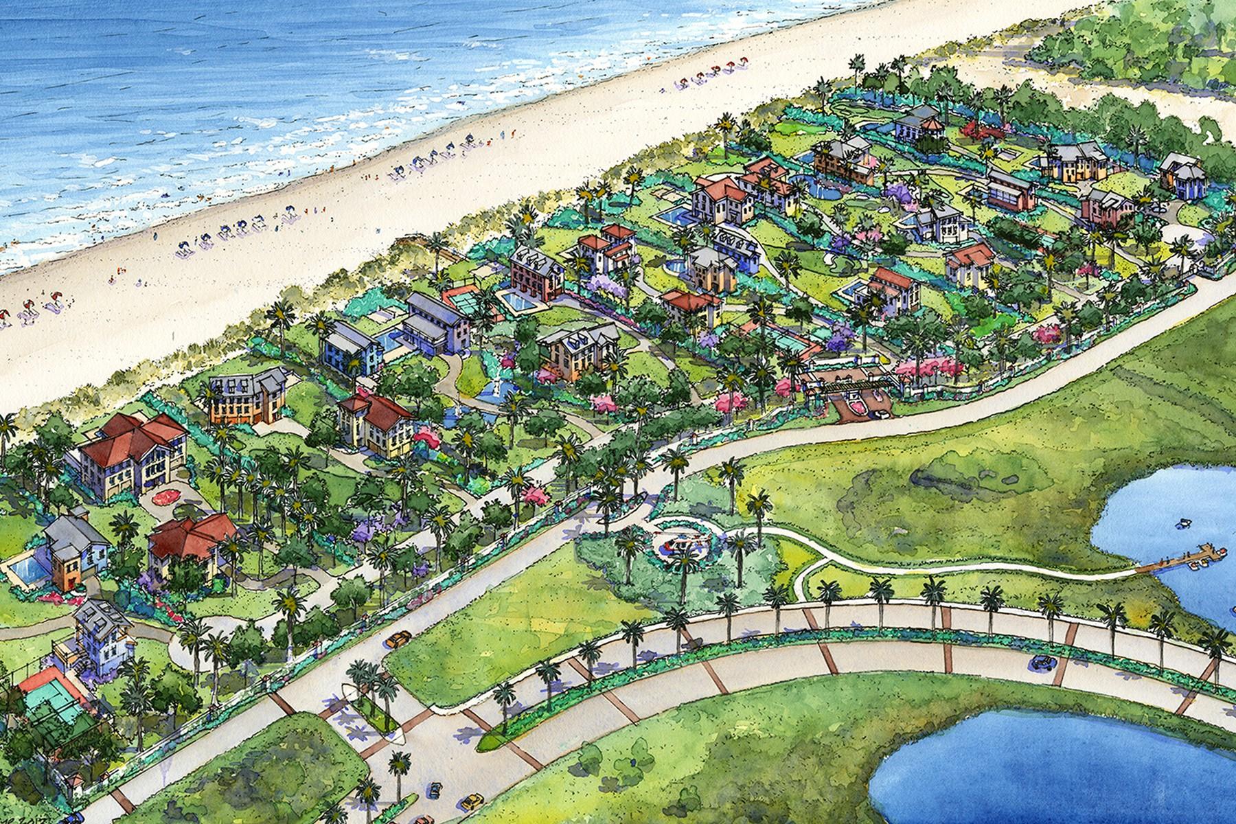 Terrain pour l Vente à Lot 4 Grand Beach Lane Galveston, Texas 77550 États-Unis