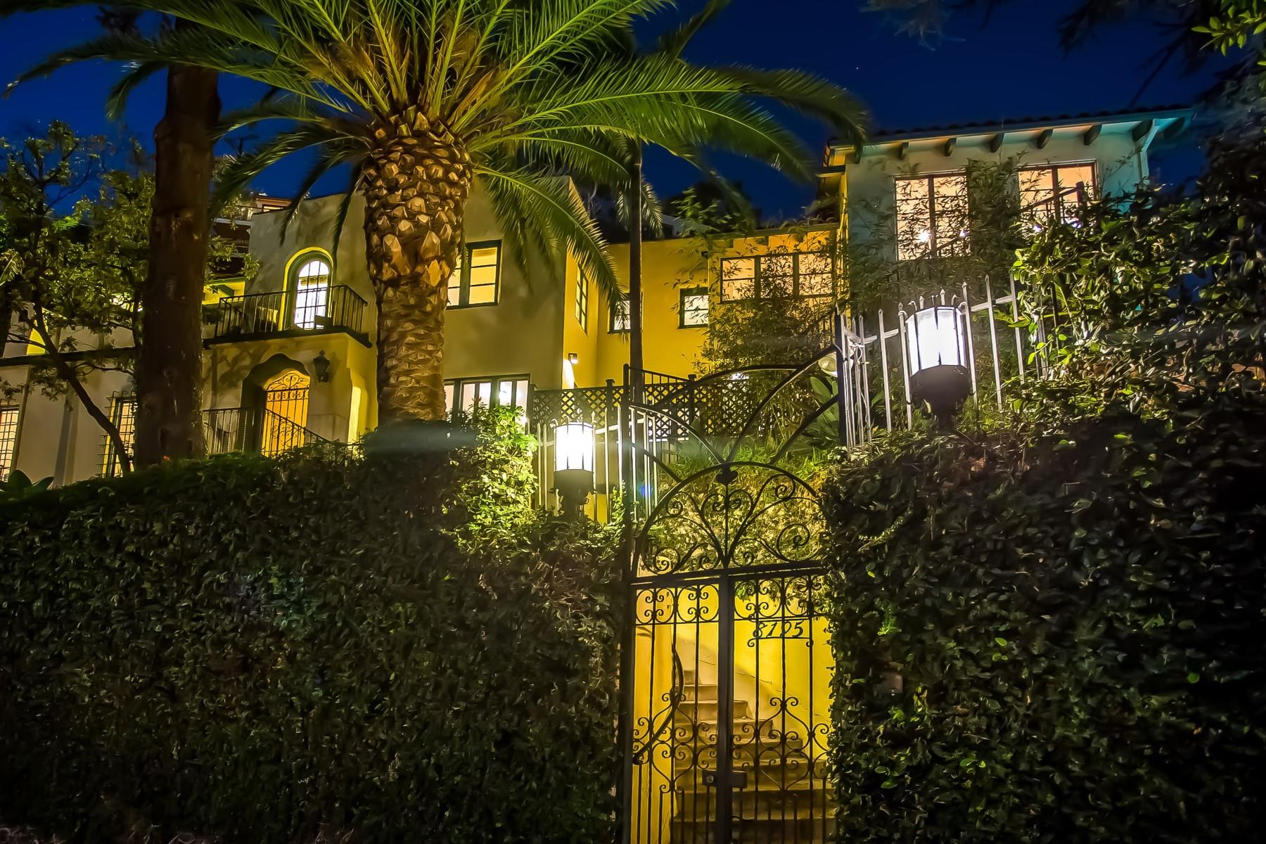 Vivienda unifamiliar por un Venta en 1920's Spanish Home in Hollywood Hills 8195 Hollywood Boulevard Los Angeles, California 90069 Estados Unidos
