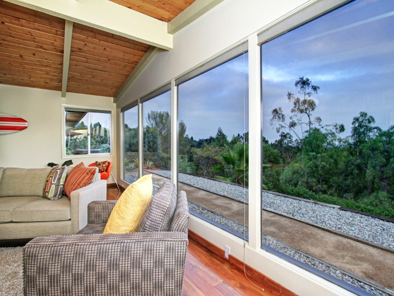 Single Family Home for Sale at Stunning Mid-Century with Panoramic View 240 Taos Road Altadena, California 91001 United States