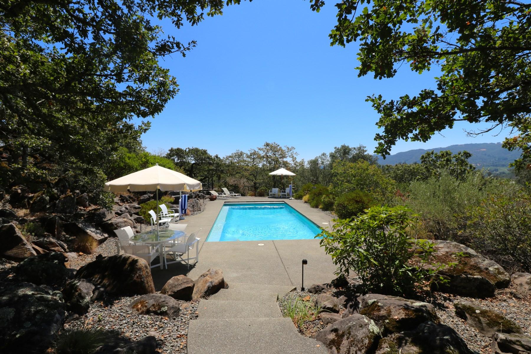 Casa para uma família para Venda às Kenwood Vista Estates Beauty 969 Via Roble Kenwood, Califórnia, 95452 Estados Unidos
