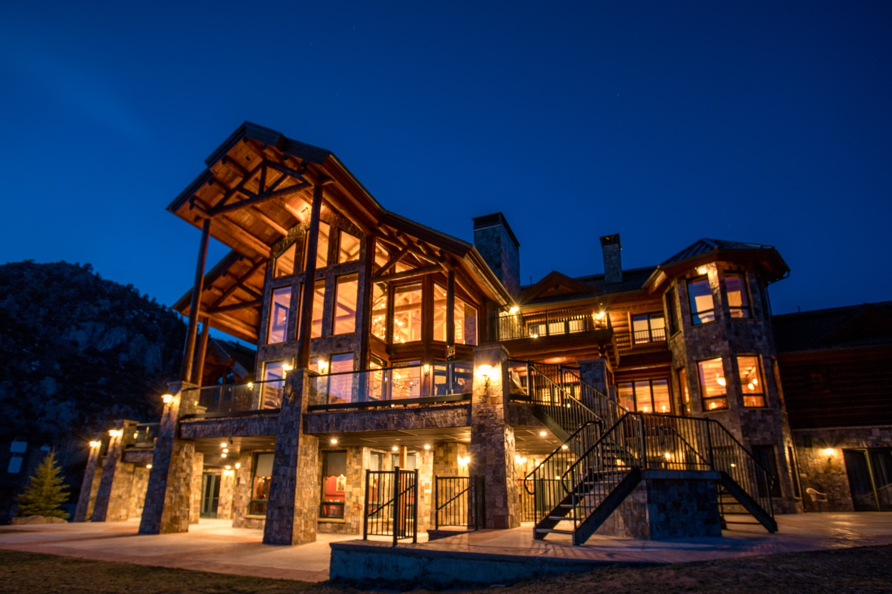 sales property at Magnificent Hand-Hewn Log Estate