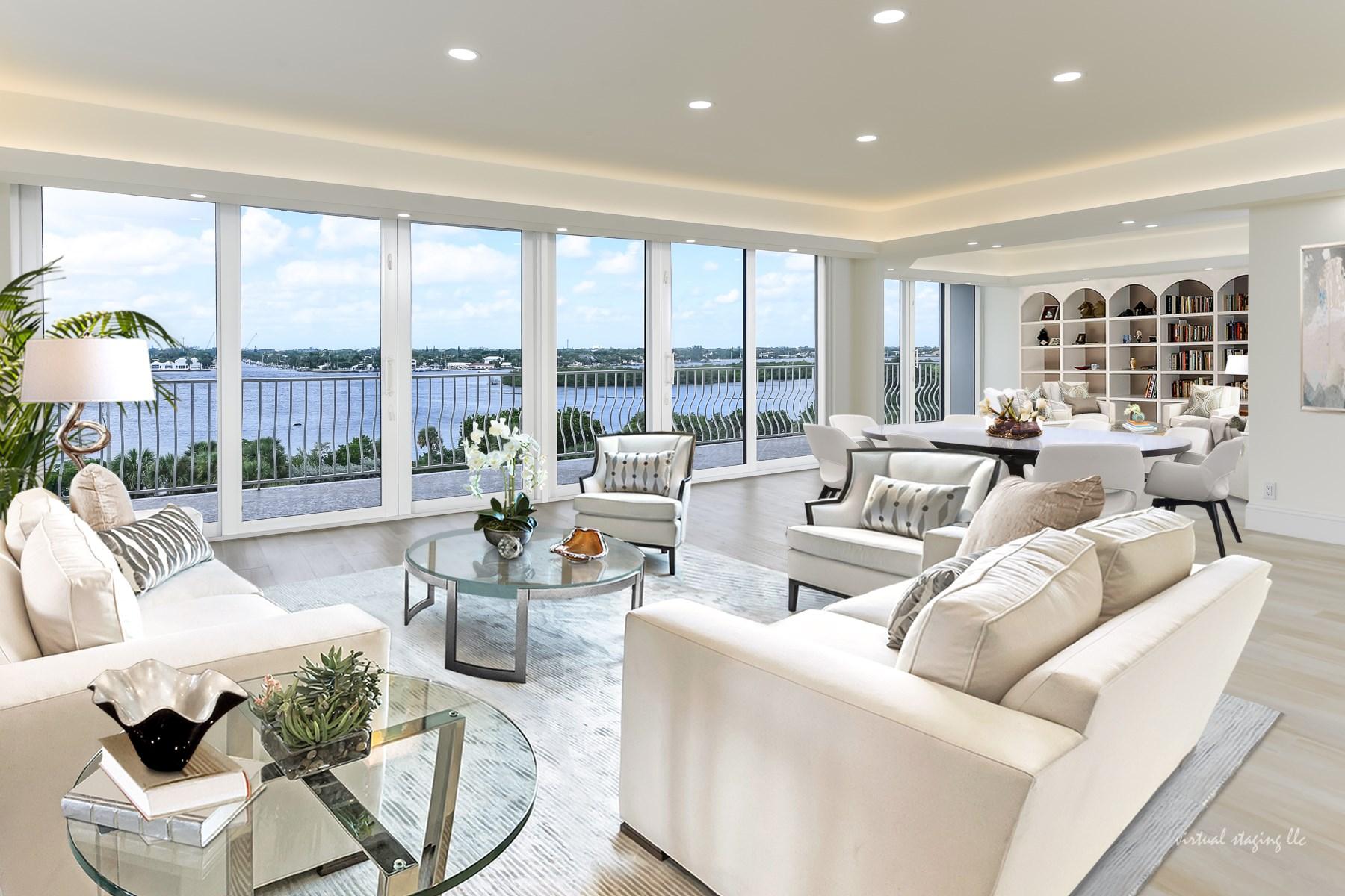 Condominio por un Venta en Stunning Sloan's Curve 2000 S Ocean Blvd 405S Palm Beach, Florida, 33480 Estados Unidos