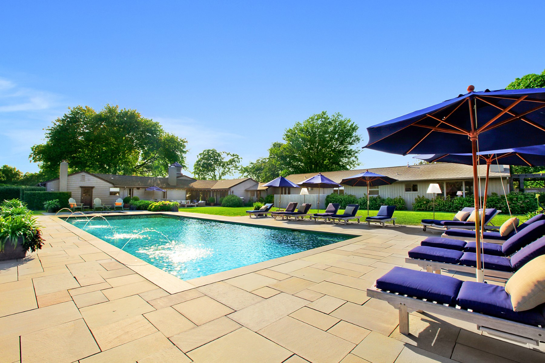 Single Family Home for Rent at Chic Carriage House, Majestic Vistas East Hampton, New York 11937 United States
