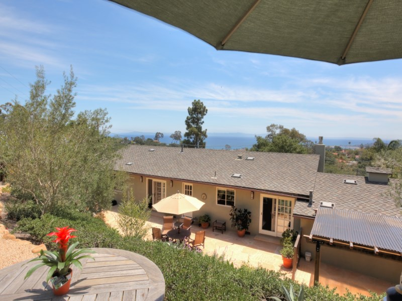 Single Family Home for Sale at Renovated Ocean and Island View Home 1889 Eucalyptus Hill Road Santa Barbara, California 93108 United States