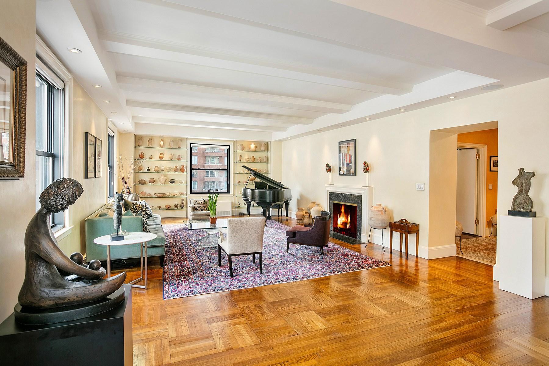 Coopérative pour l Vente à 1035 Fifth Avenue 1035 Fifth Avenue Apt 12de Upper East Side, New York, New York 10028 États-Unis