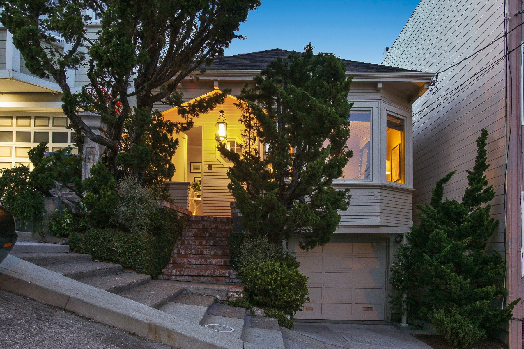 Single Family Home for Sale at Fabled Dolores Heights Home 3622 22nd St Noe Valley, San Francisco, California, 94114 United States