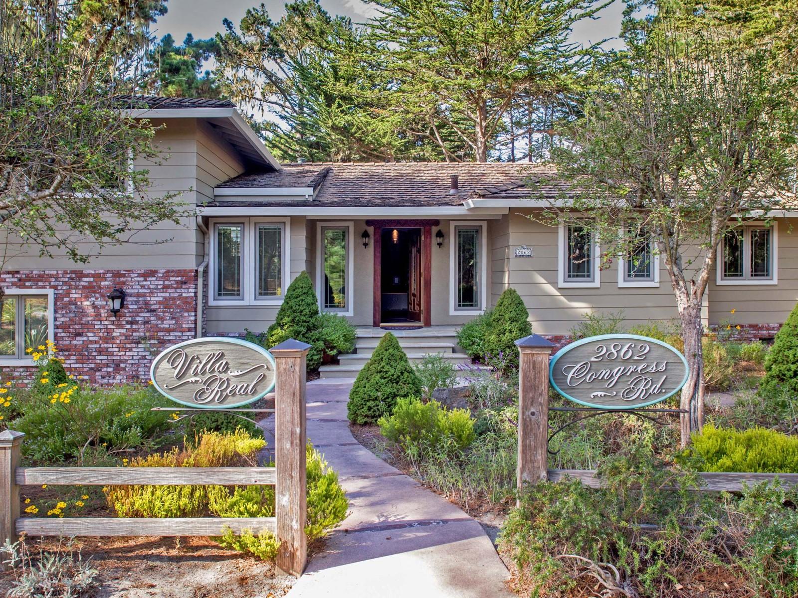 一戸建て のために 売買 アット Pebble Beach Home at 2862 Congress Road Pebble Beach, カリフォルニア 93953 アメリカ合衆国