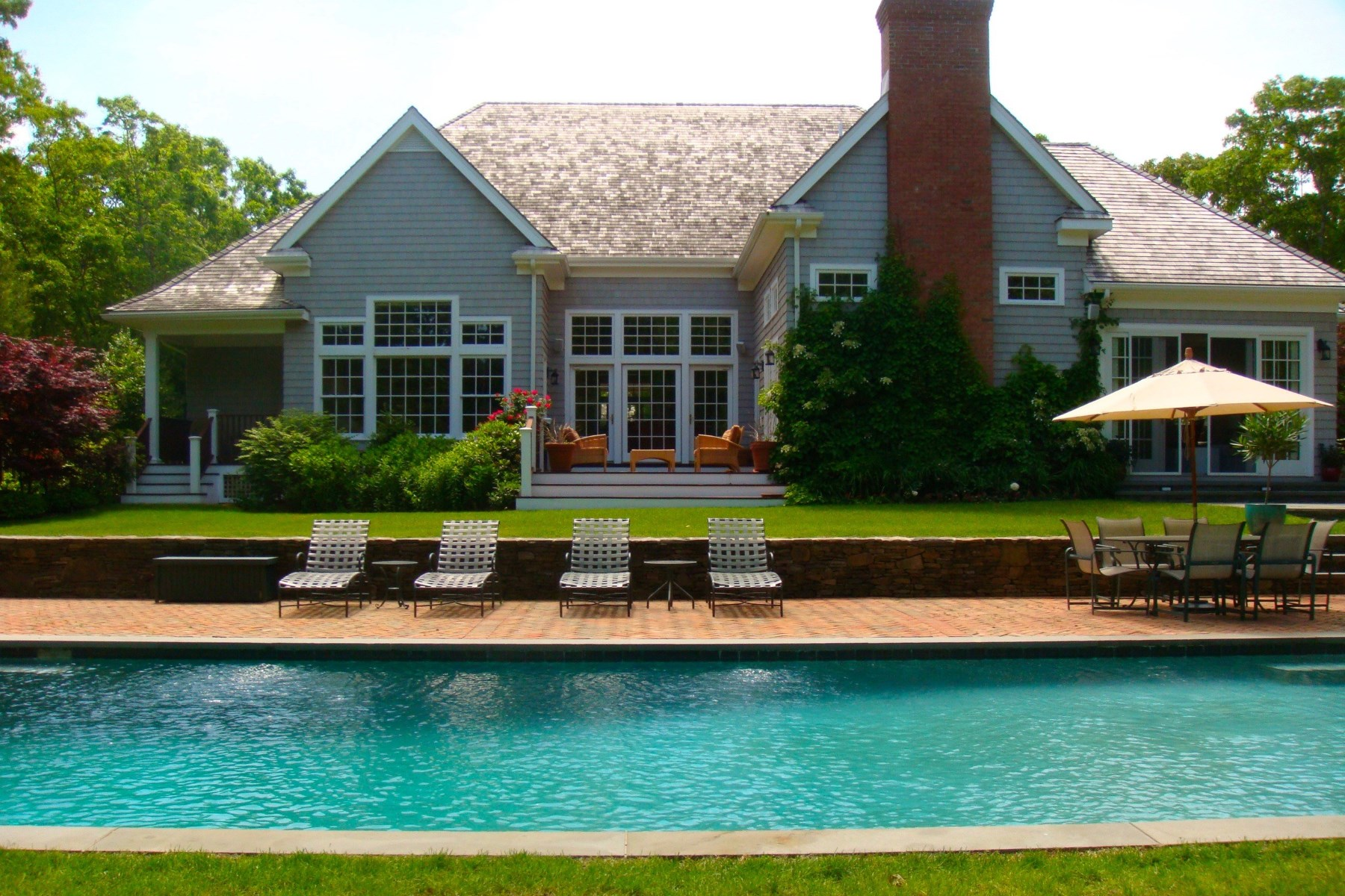 Single Family Home for Sale at Private East Hampton Retreat East Hampton, New York, 11937 United States