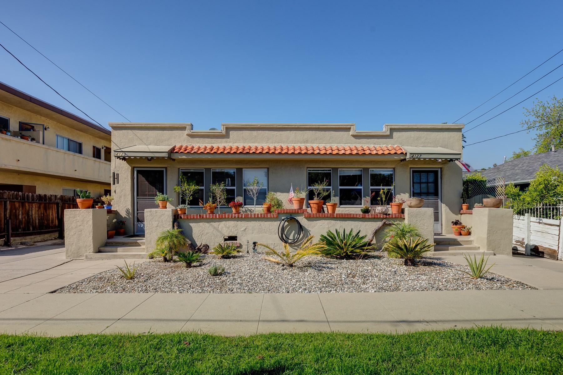 多戶家庭房屋 為 出售 在 4127 Cumberland Avenue Los Feliz, Los Angeles, 加利福尼亞州, 90027 美國
