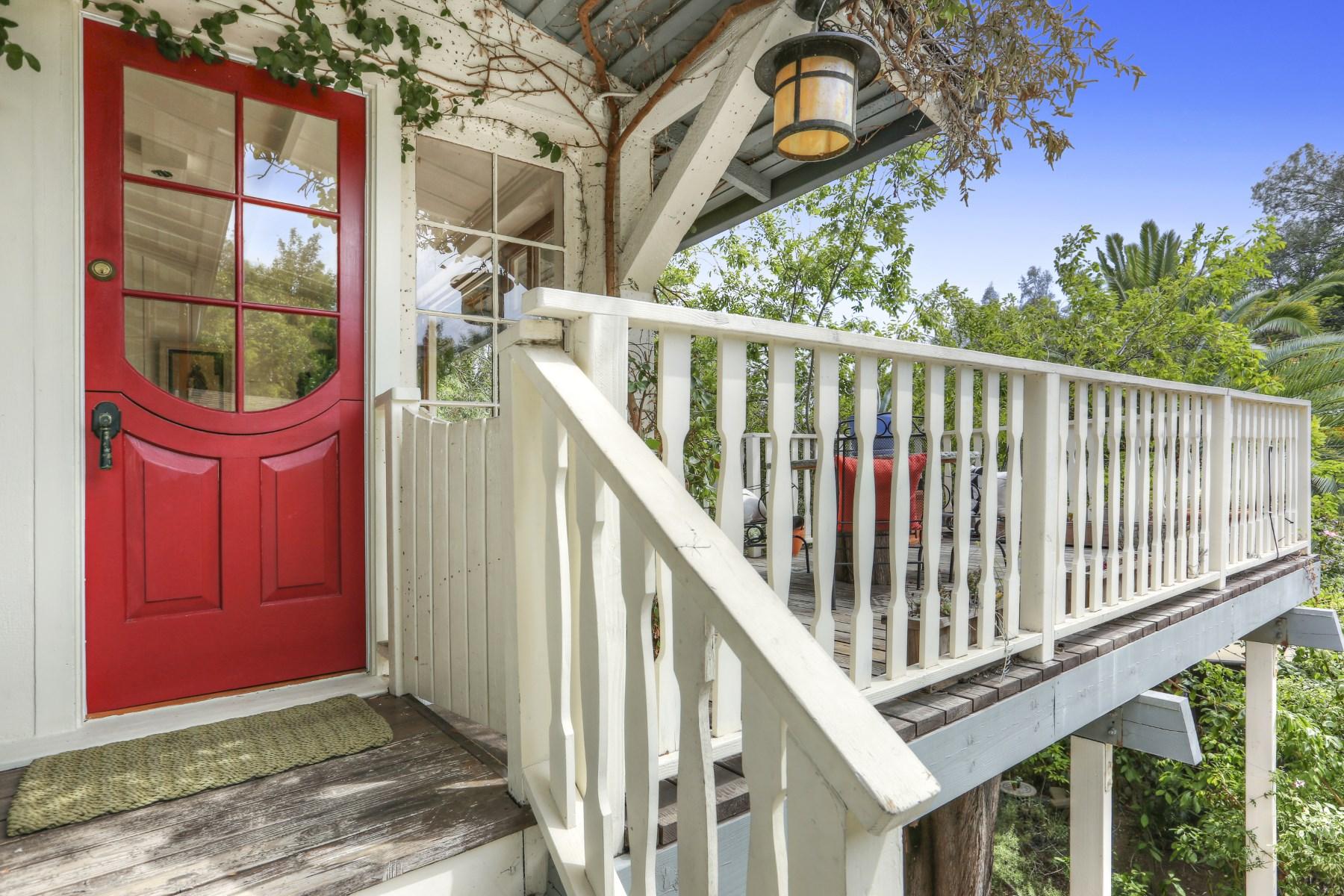 獨棟家庭住宅 為 出售 在 1954 Pinehurst Road Hollywood Hills, Los Angeles, 加利福尼亞州, 90068 美國