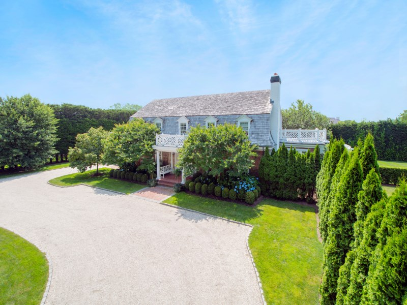 Single Family Home for Sale at Ideal Southampton Village Home with Pool 88 Huntting Street Southampton, New York 11968 United States