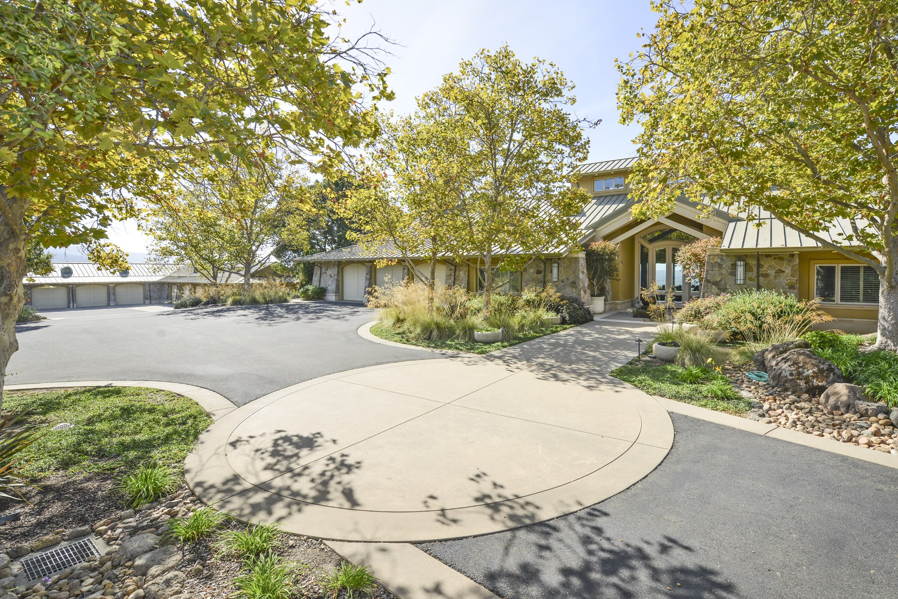 Farm / Ranch / Plantation for Sale at Classic Custom Wine Country Estate 2395 Old Soda Springs Rd Napa, California, 94558 United States