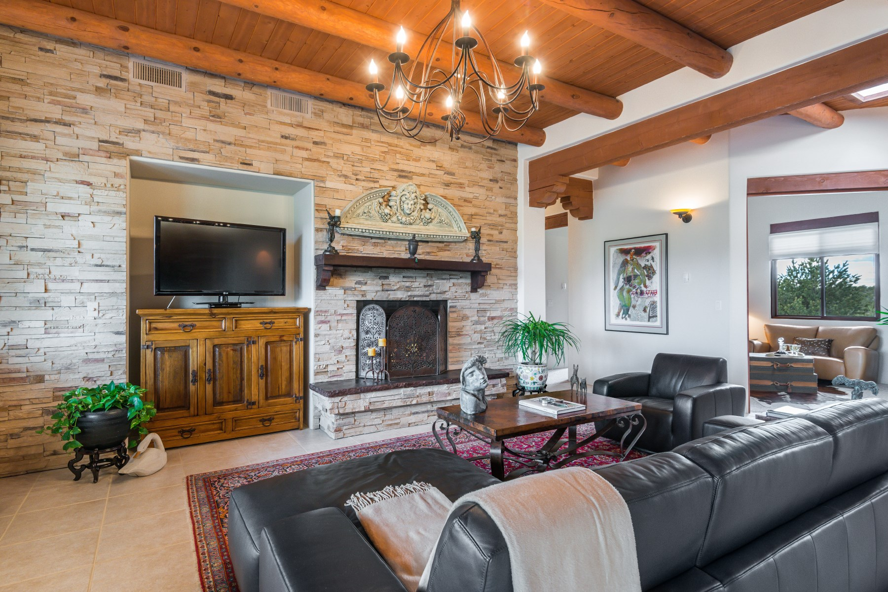 Maison unifamiliale pour l Vente à 616 Ridge Pointe Lane Santa Fe City Northwest, Santa Fe, New Mexico, 87506 États-Unis