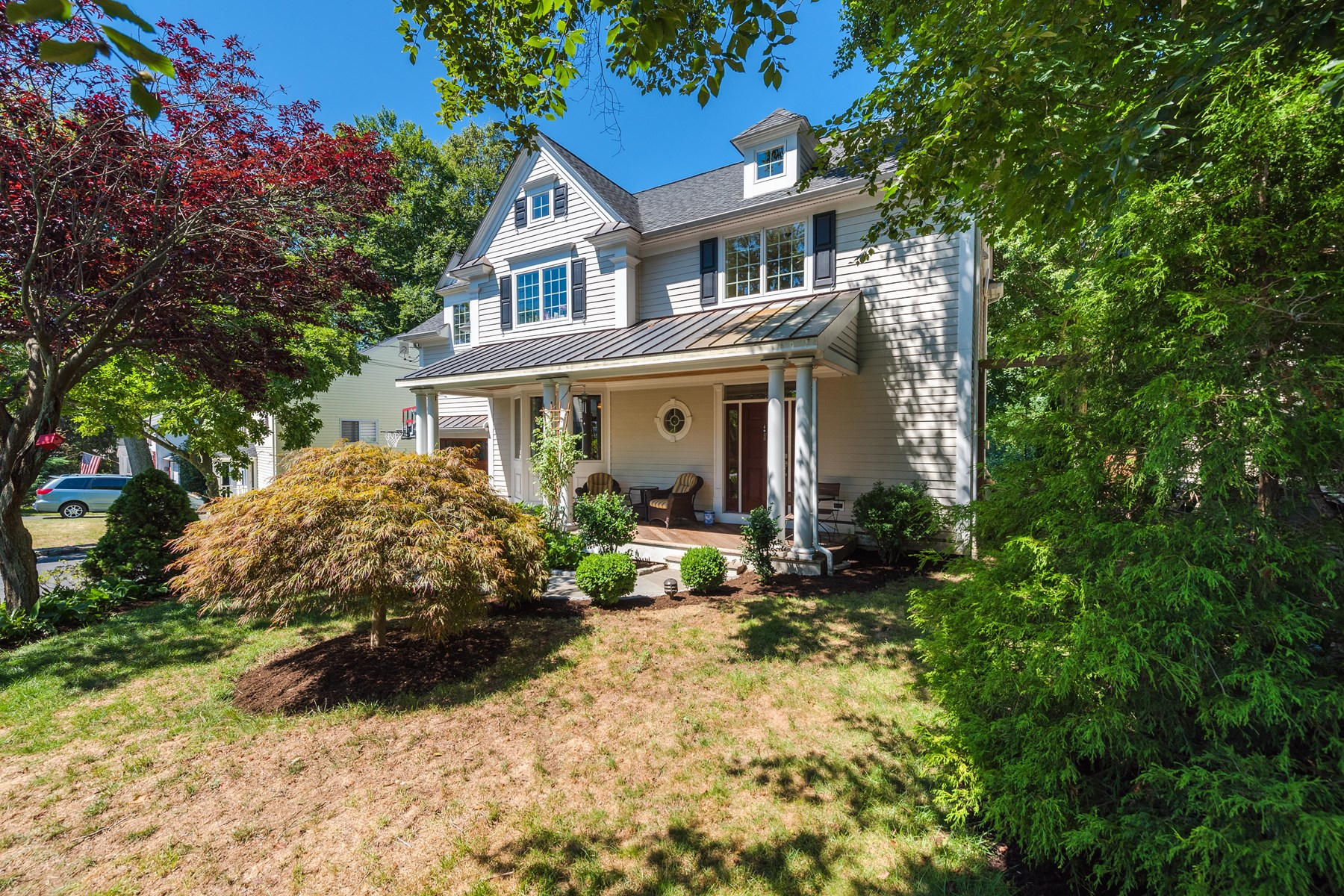 Single Family Home for Sale at Riverside Colonial with Pond Views 67 Mary Lane Riverside, Connecticut, 06878 United States