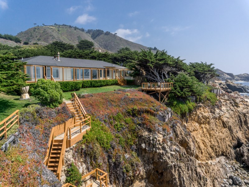 Single Family Home for Sale at Oceanfront Living At Its Best 35700 Highway 1 Carmel, California 93923 United States