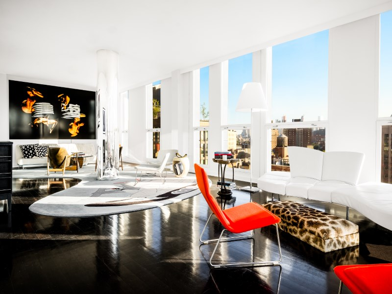 Condominium for Rent at Penthouse in Meatpacking with Rooftop 66 Ninth Avenue Phw Chelsea, New York, New York 10011 United States