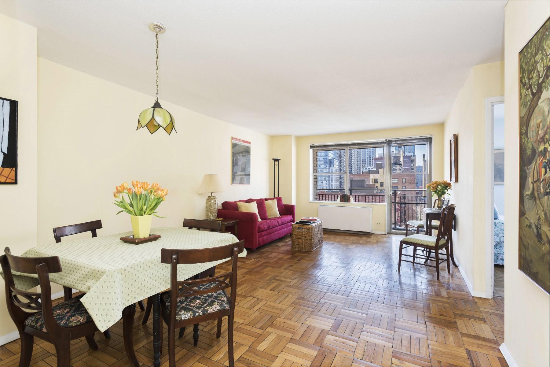 共有 為 出售 在 201 West 70th Street: One Sherman Square 201 West 70th Street Apt 9l New York, 紐約州 10023 美國
