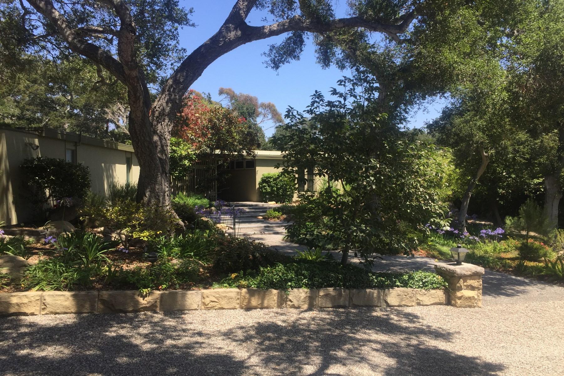 Einfamilienhaus für Verkauf beim Mid-Century 5 Bedroom Home 630 Oak Grove Drive Montecito, Kalifornien, 93108 Vereinigte Staaten