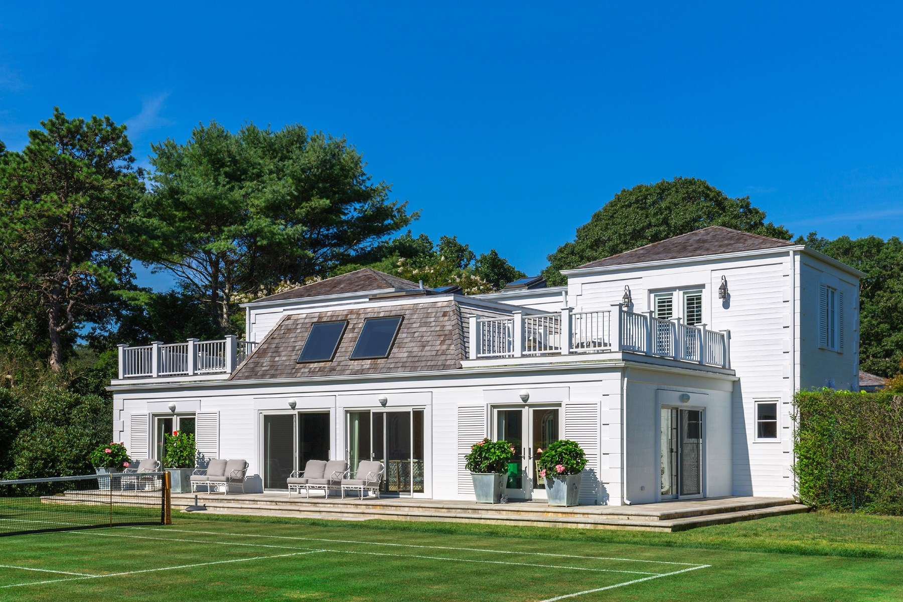 단독 가정 주택 용 매매 에 Midcentury Georgica Estate East Hampton Village, East Hampton, 뉴욕, 11937 미국