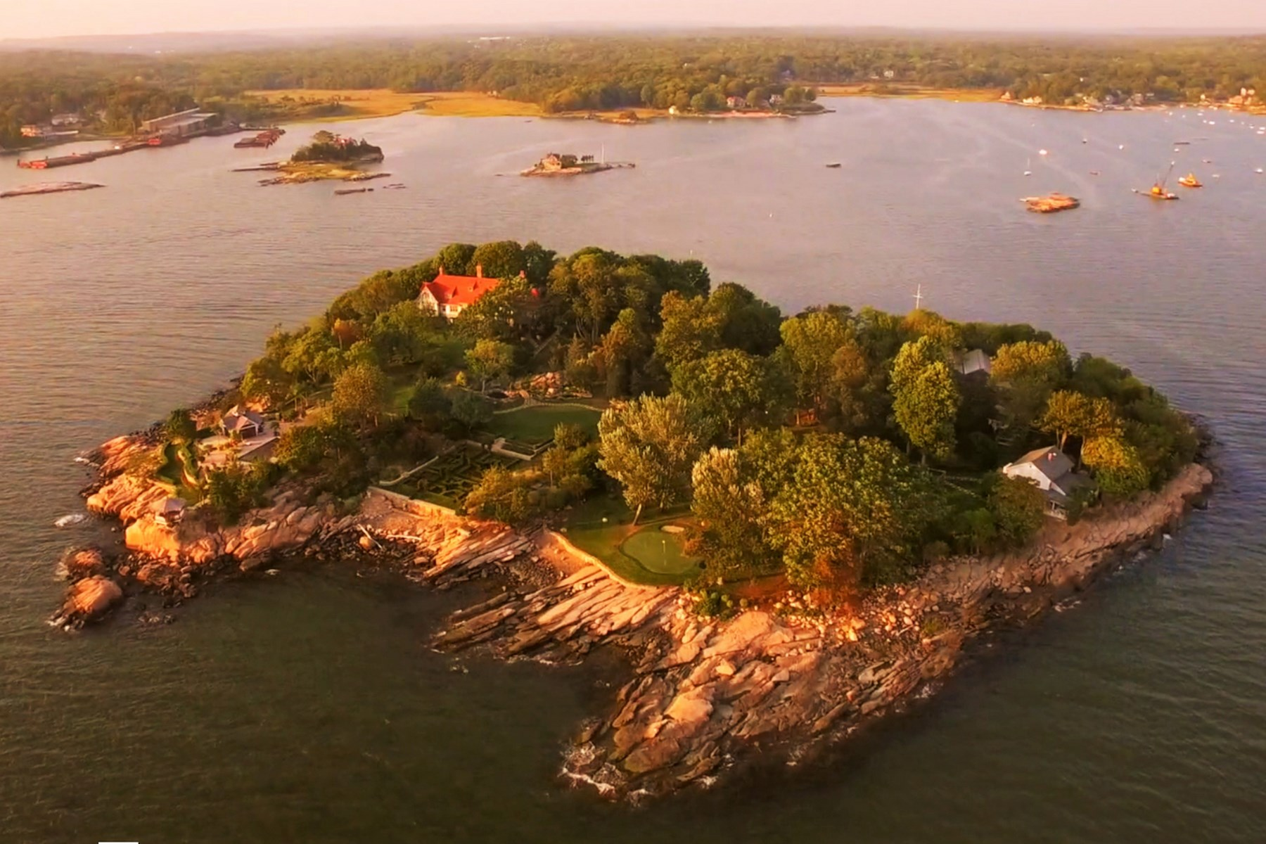 Vivienda unifamiliar por un Venta en Thimble Islands Branford, Connecticut, 06405 Estados Unidos
