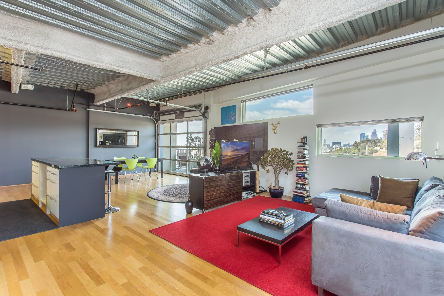 Кооперативная квартира для того Продажа на Modern Lincoln Heights Penthouse 200 N San Fernando Rd #612 Downtown Los Angeles, Los Angeles, Калифорния, 90031 Соединенные Штаты